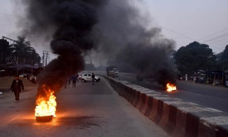 North east India Protests