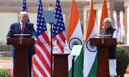 Trump and Modi joint press conference