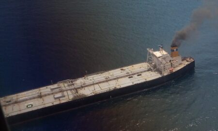 The Indian Coast Guard on Thursday said it has diverted three of its ships and a Dornier aircraft to assist the Sri Lankan Navy to douse a fire on board an oil tanker 'MT NewDiamond'. According to the Coast Guard, the Sri Lankan Navy had sought assistance to fight the fire and explosion on board MT NewDiamond. The tanker is 37 nautical miles off the Sri Lankan coast. The Coast Guard said it had diverted three of its ships – Shaurya, Sarang, Samudra Paheredar and a Dornier aircraft for firefighting operations.